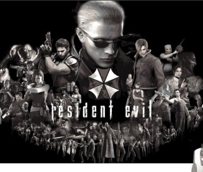 Pinaki Resident Evil Gaming Mousepad