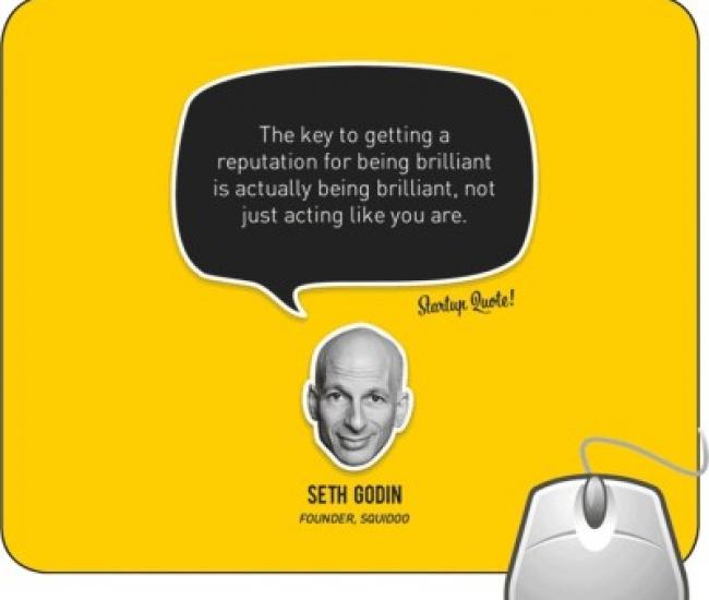 Pinaki Seth Godin Mousepad