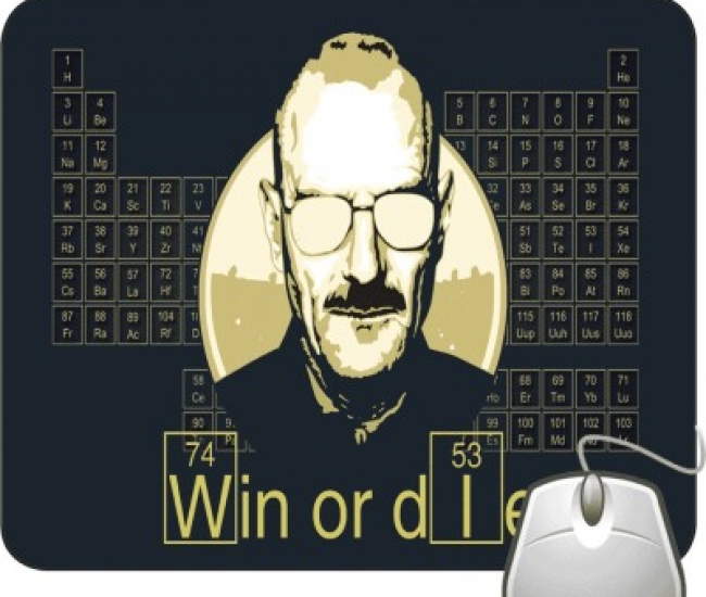 Pinaki Win Or Die Mousepad