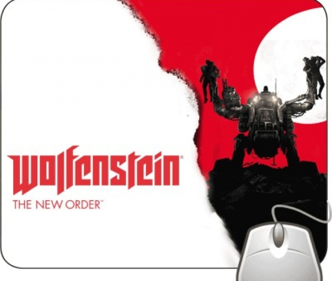 Pinaki Wolfenstein New Order Mousepad