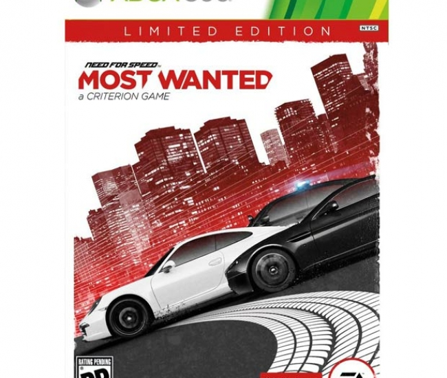 Need For Speed: Most Wanted - 2012 Xbox 360