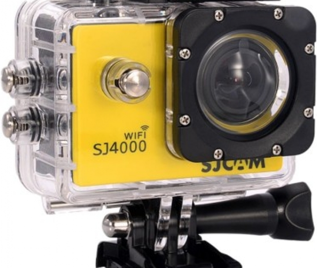 SJCAM SJ Sjcam 4000 Sj _7 Sjcam 4000 Wifi Yellow Sports & Action Camera