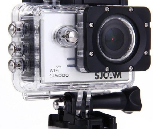 Sjcam Sj Sjcam Sj 5000 Wifi Silver _1 Sjcam 5000 Wifi 0001 Sports & Action Camera