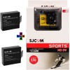 SJCAM SJ Sjcam 4000 Sj _9 Sjcam 4000 Wifi Yellow_2Battery Sports & Action Camera