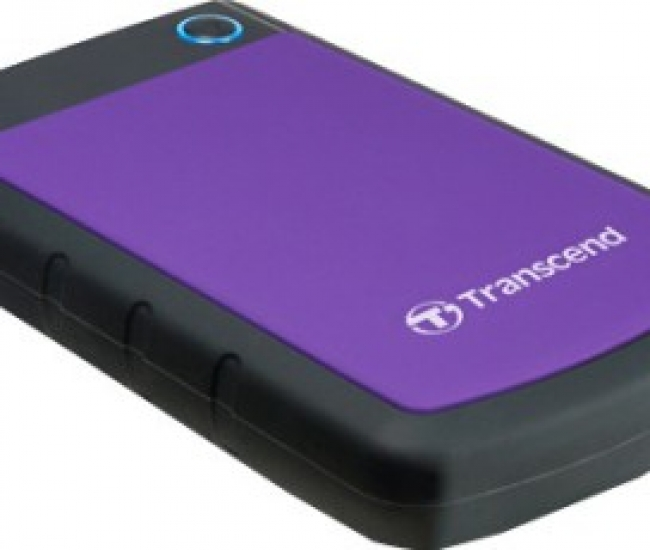 Transcend StoreJet 25H3P 2.5 inch 500 GB External Hard Disk