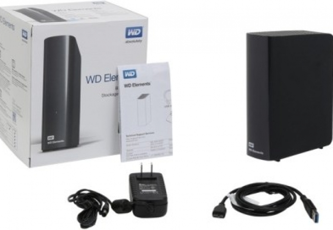 WD WD Elements Basic Storage Stockage Simplement 3 TB Wired External Hard Disk Drive
